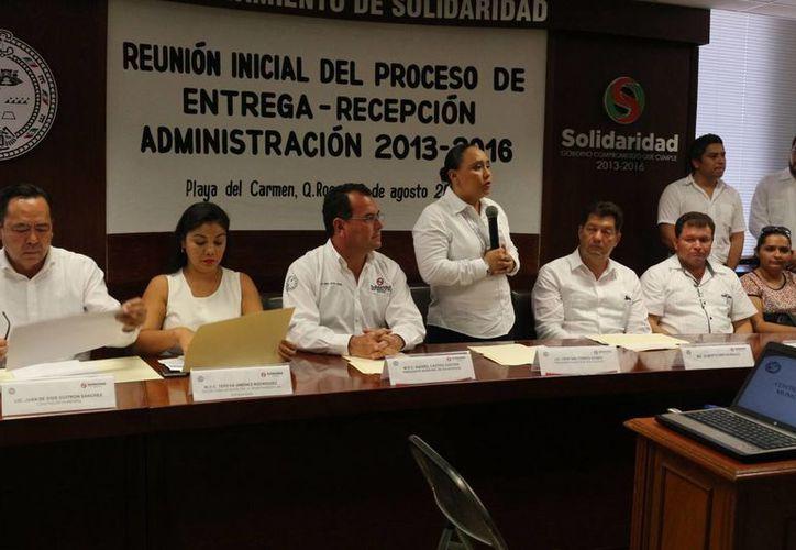 Ya tienen un panorama inicial de cómo encontrarían la administración de la Comuna. (Adrián Barreto/ SIPSE)
