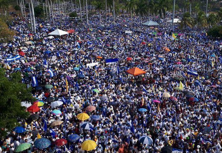 Otras manifestaciones se llevaron a cabo en Estelí, Granada, León y Matagalpa. (Twitter)