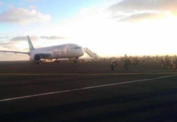 Un total de 22 mujeres y 48 hombres cubanos, que llegaron en Mérida a bordo de un Boeing, fueron repatriados. (Foto de contexto de SIPSE)