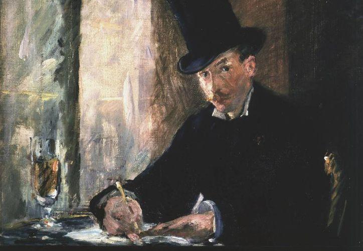 """La pintura """"Chez Tortoni"""" de Edouard Manet, una de las obras maestras robadas del museo de Boston el 18 de marzo de 1990. (fbi.gov)"""