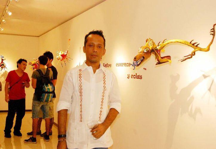 El artista Carlos Escobar impartirá un taller para crear alebrijes. (Milenio Novedades)