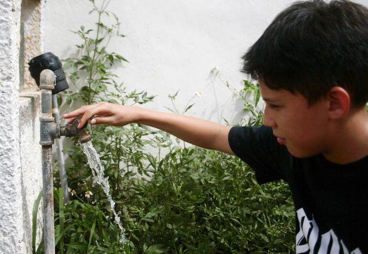 En breve Ciudad Caucel y el Poniente de Mérida recibirán un 'refuerzo' en cuanto al agua potable. (Cristian Ayala/SIPSE)