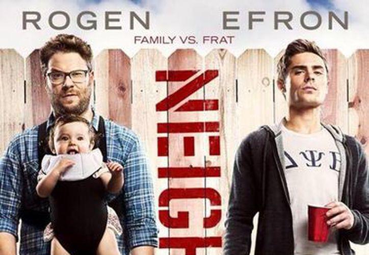 """En la filmación de """"Neighbors"""", Efron recayó en las drogas. (Facebook/Zac Efron)"""