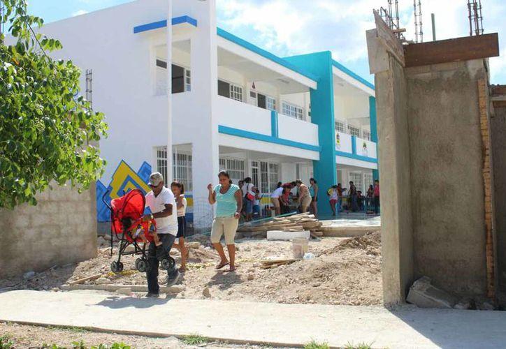 En el municipio de Solidaridad se han trabajado un total de 42 obras, de las cuales 24 están terminadas y 17 continúan en proceso. (Foto: Daniel Pacheco/SIPSE)
