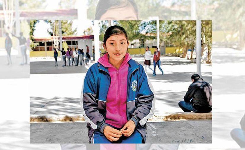 Imagen de María, una de las adolescentes que nació en EU, pero que tuvo que regresar junto con su mamá a Zacatecas, México. (Araceli López/Milenio)