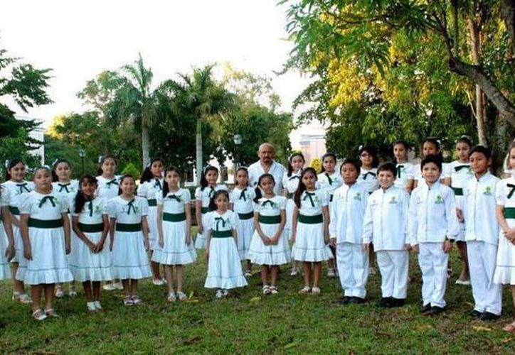 Los Niños Cantores de Yucatán participará en el espacio escénico y de formación artística que organiza Cor-Atl México. (Milenio Novedades)