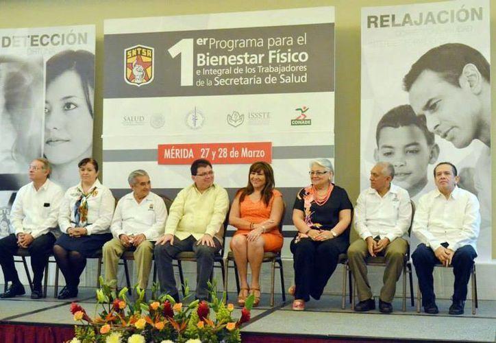 Se puso en marcha el programa de bienestar para empleados de salud. (Luis Pérez/SIPSE)