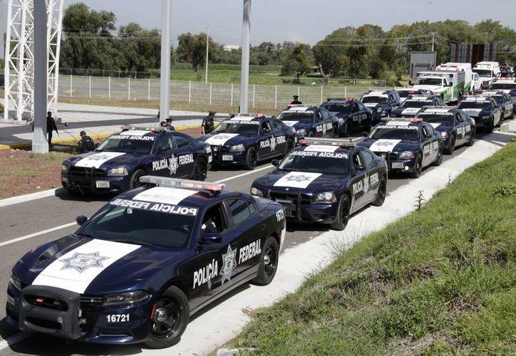 Más de cuatro mil unidades de la Policía Federal brindarán ayuda a los paseantes durante estas vacaciones de verano. (Notimex)