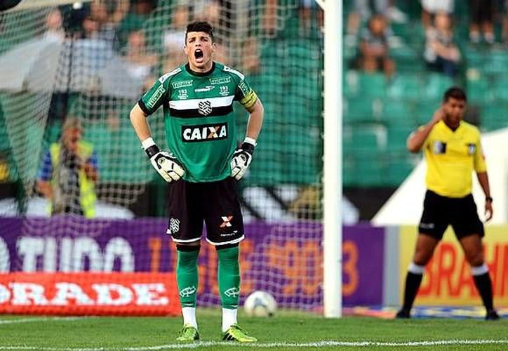 Tiago Volpi, procedente del Figueirense, jugará ahora con Gallos Blancos de Querétaro. (mediotiempo.com)