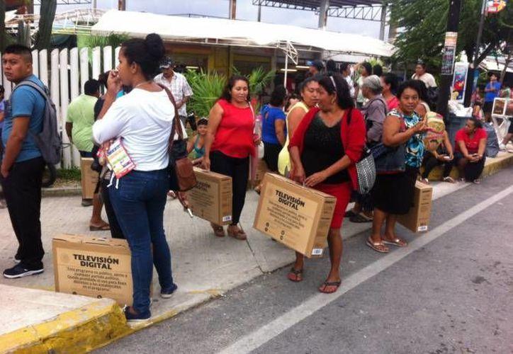 Las pantallas se entregan en el domo del Jacinto Canek en Cancún. (Archivo/SIPSE)