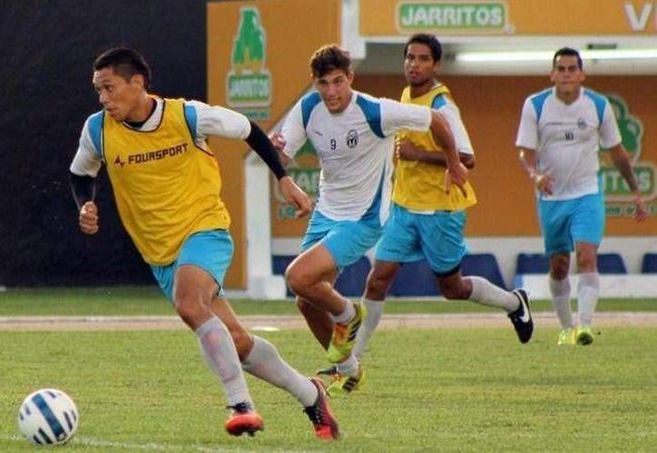 El delantero yucateco Freddy Martín Mex quiere marcar diferencia ante Alebrijes esta tarde. (Milenio Novedades)