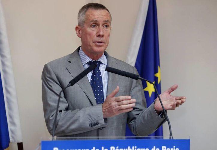 El procurador francés François Molins indicó que el sospechoso fue identificado en un control aduanero. (AP)