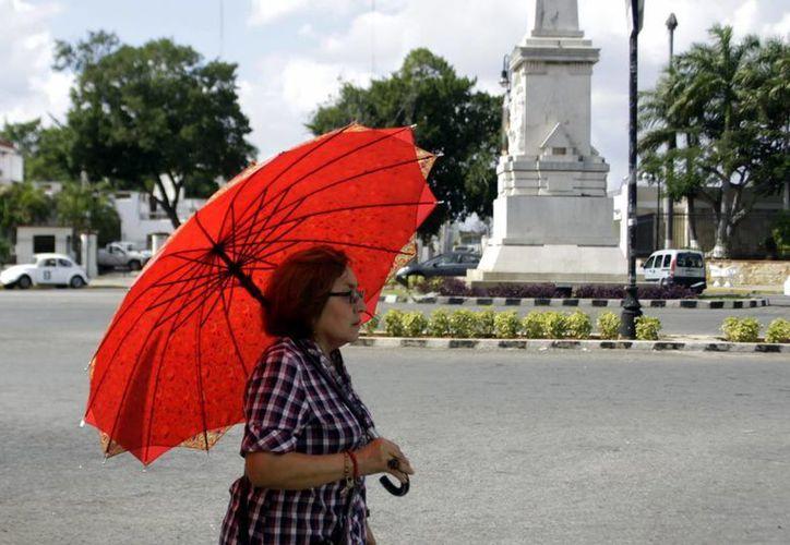 Hoy se espera que de nuevo se registren altas temperaturas. (Christian Ayala/SIPSE)