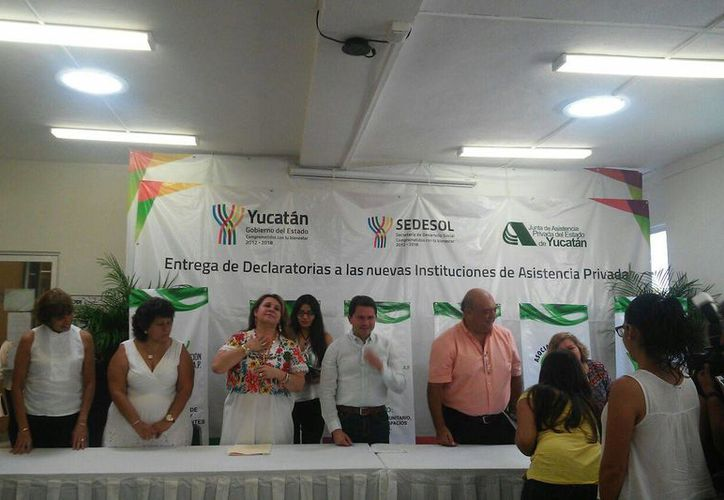 Organizaciones civiles de Yucatán recibieron la declaratoria como instituciones de asistencia privada, lo que les dará acceso a más recursos. (Cecilia Ricárdez/SIPSE)