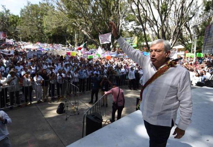 En su gira de agradecimiento prevé recorrer los 32 estados de la República de México (ADN Político)