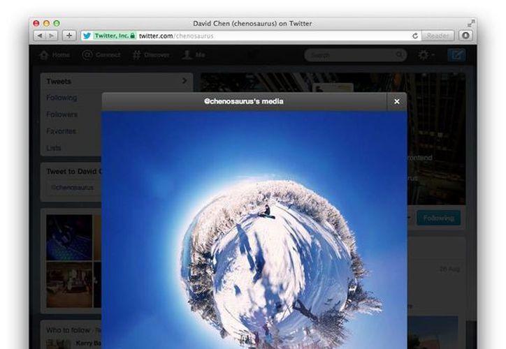 Ahora se podrán ver fotografías en tamaño grande. (blog.twitter.com)