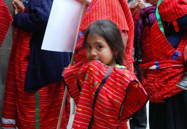 Los sectores más afectados son aquellos que están en situación de vulnerabilidad, como mujeres, jóvenes y niños indígenas. (Archivo/Notimex)