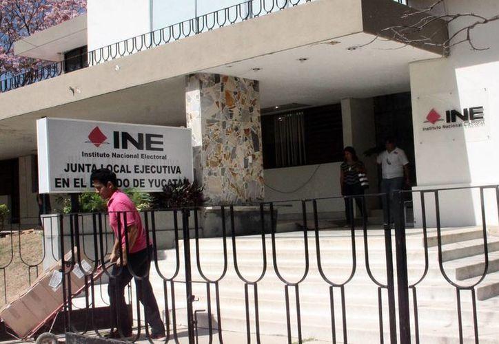 El INE fiscaliza los gastos de los partidos políticos. (Milenio Novedades)