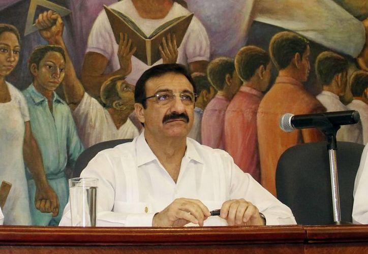 La rectoría de la Uady está a cargo de Alfredo Dájer Abimerhi, quien informó el proceso de reestructuración. (Milenio Novedades)