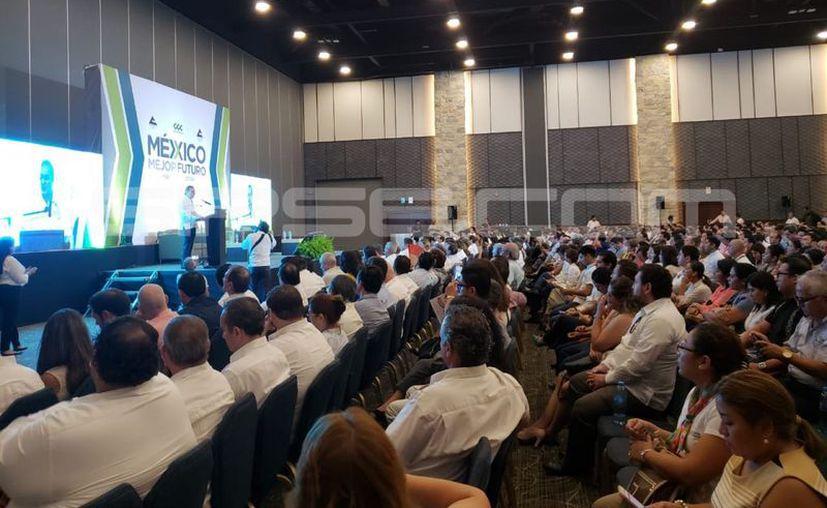 El evento se realiza en el Centro Internacional de Congresos, en Mérida. (Fotos: Gretel Mac/SIPSE)