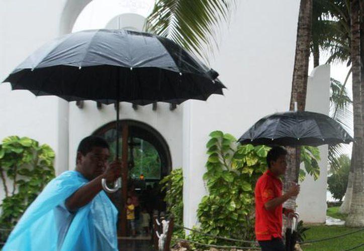 Este fin de semana será lluvioso, según el pronóstico meteorológico. (Octavio Martínez/SIPSE)