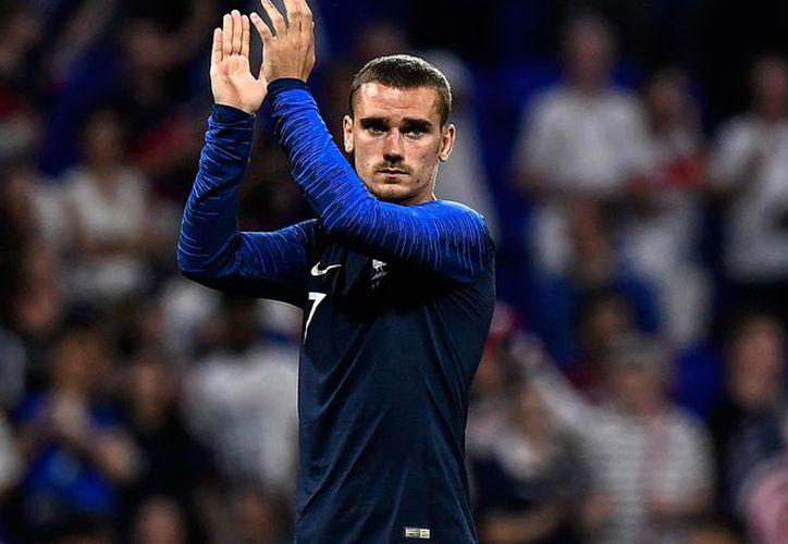 Griezmann sólo quiso hablar de la selección francesa y del Mundial. (Internet)