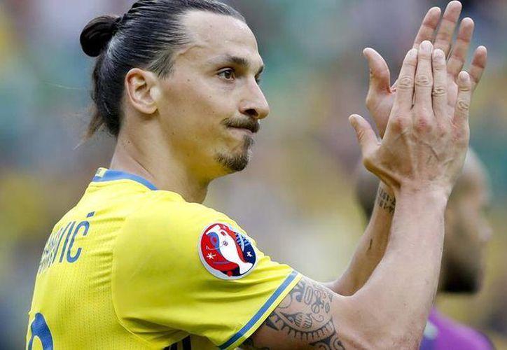 El atacante sueco Zlatan Ibrahimovic anunció este martes su retirada internacional al término de su participación en la Eurocopa de Francia 2016, a sus 34 años. (Archivo/AP)