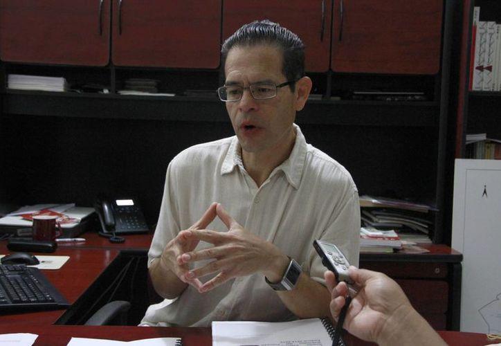 Demetrio Cabrera Hernández dijo que el proceso de cómputo distrital tiene un plazo máximo de 26 horas. (Tomás Álvarez/SIPSE)