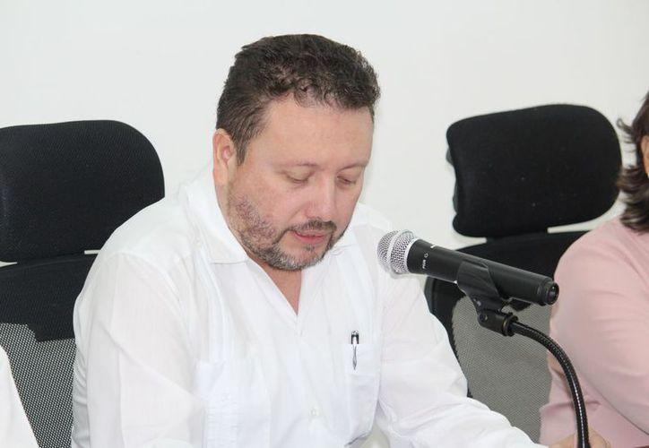 Armando Valdez Morales, magistrado presidente del Tribunal Electoral del Estado.