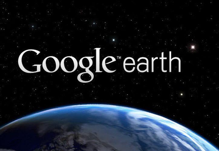 La aplicación Google Earth se podría asemejar en el futuro a una red social. (Google Earth).
