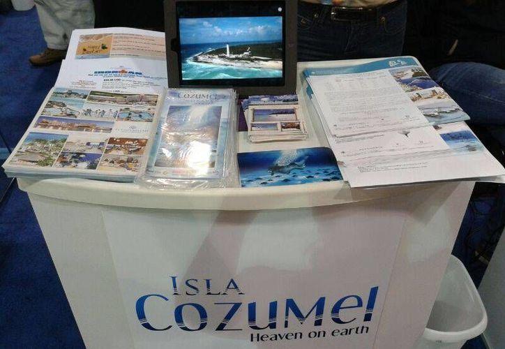 Se repartirán folletos de los atractivos del destino en la feria. (Redacción/SIPSE)
