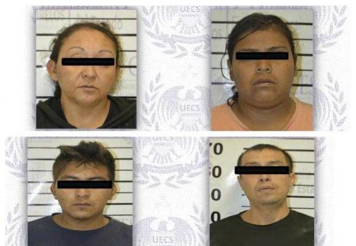Los secuestradores detenidos este domingo en Morelos, tres de ellos familiares entre sí, fueron localizados en una casa de seguridad en el municipio de Tlaquiltenango. (Foto de excelsior.com)