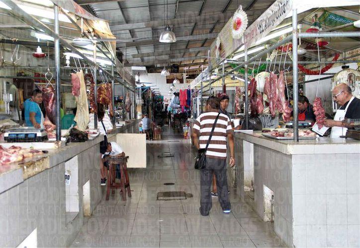 La Cofepris realiza supervisiones en carnicerías de la zona sur y norte de la entidad. (Alejandra Carrión/SIPSE)