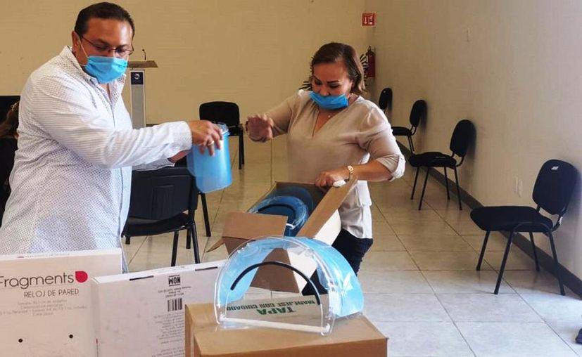 Para hacer frente a la contingencia epidemiológica se han adquirido los insumos necesarios. (Novedades Yucatán)