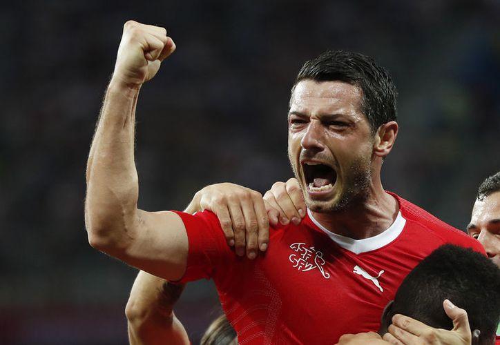 Dzemailli (foto) abrió el marcador, pero los ticos empataron a Suiza más adelante (Foto AP)