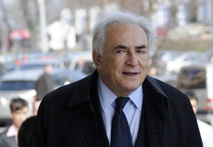El político francés llegó a un acuerdo con una de sus demandantes. (Agencias)