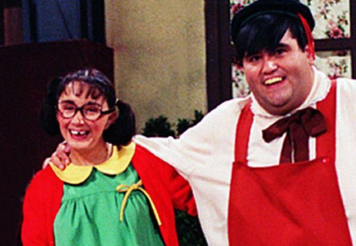 Ambos actores se conocieron en la famosa serie infantil 'El Chavo del Ocho'. (Foto: Contexto/Trome).