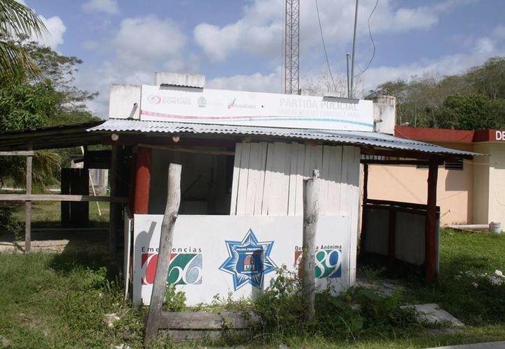 Algunas comunidades  del sur de Quintana Roo carecen de una partida policial. (Edgardo Rodríguez/SIPSE)
