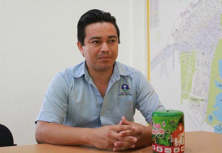 Efrén Vázquez Hernández comentó que la campaña fue del 1 al 15 de mayo pasado. (Luis Soto/SIPSE)