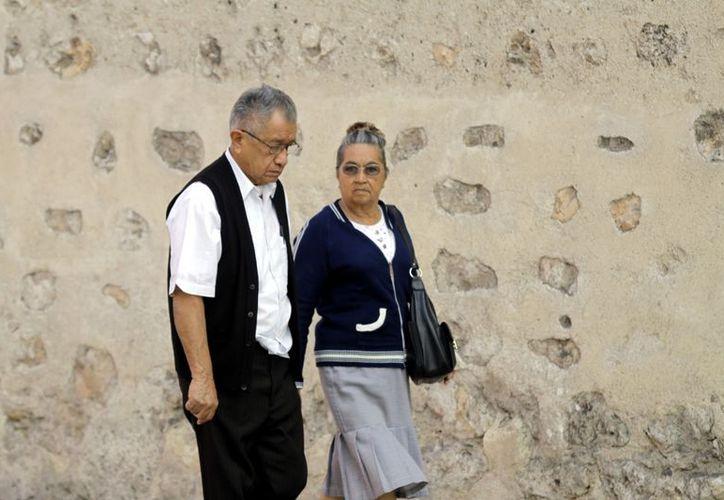 Conagua recomienda a los habitantes mantenerse abrigados. (Christian Ayala/SIPSE)