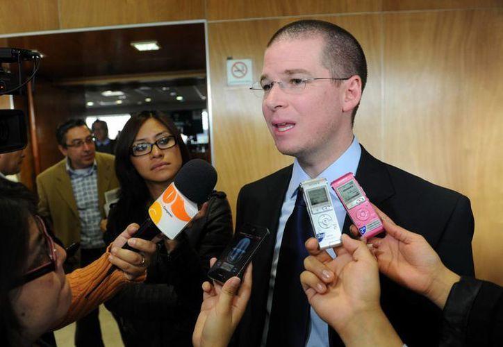 Anaya Cortés sería precandidato del PAN al gobierno del estado de Querétaro. (diputados.pan.org.mx)