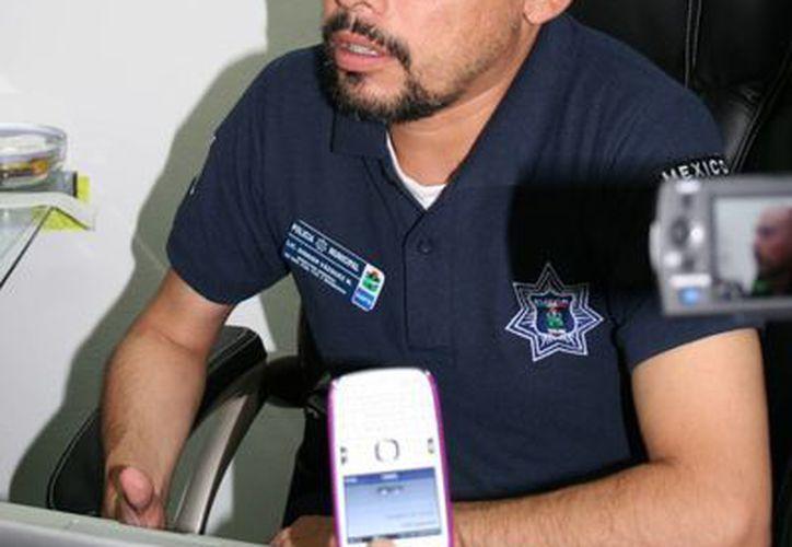 Diddier Vázquez Méndez, director del Policía Municipal. (Rossy López/SIPSE)