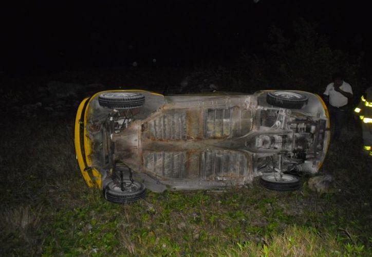 Los daños materiales del accidente fueron calculados en  siete mil pesos. (Redacción/SIPSE)