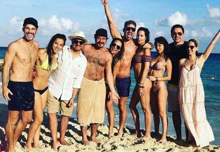 Famosos compartieron en sus redes sociales su estancia en la Riviera Maya. (Instagram)