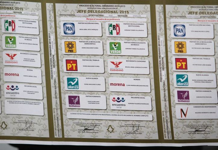 Las boletas fueron localizadas en Mexicali y estaban marcadas a favor del candidato del PAN en Sonora. Imagen estrictamente referencial. (Archivo/Notimex)