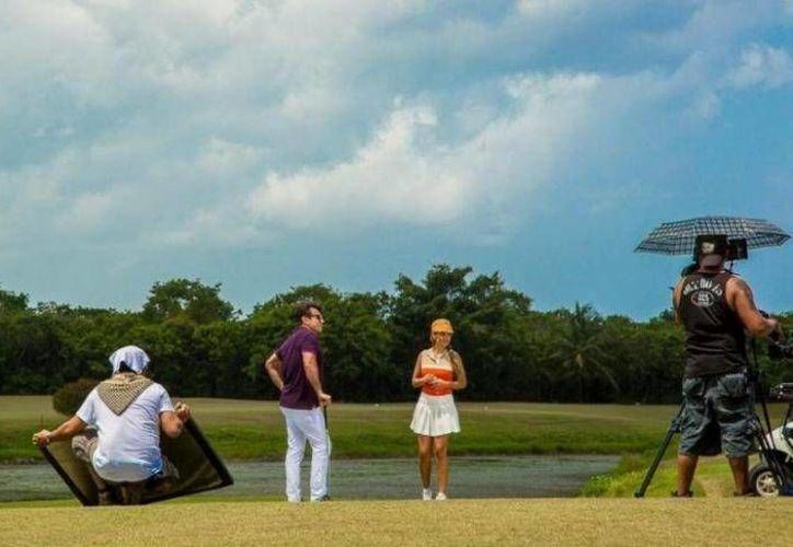 """El """"Country Club Cozumel"""" fue una de las locaciones escogidas por el productor, Juan Osorio. (Foto/Internet)"""