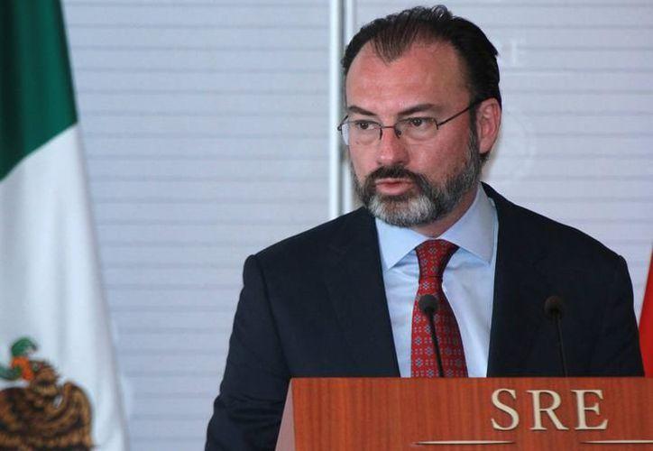 Confía Luis Videgaray, secretario de Relaciones Exteriores, en que llegará México a un acuerdo con Estados Unidos y Canadá respecto al Tratado de Libre  Comercio en América del Norte (TLCAN). (SIPSE)