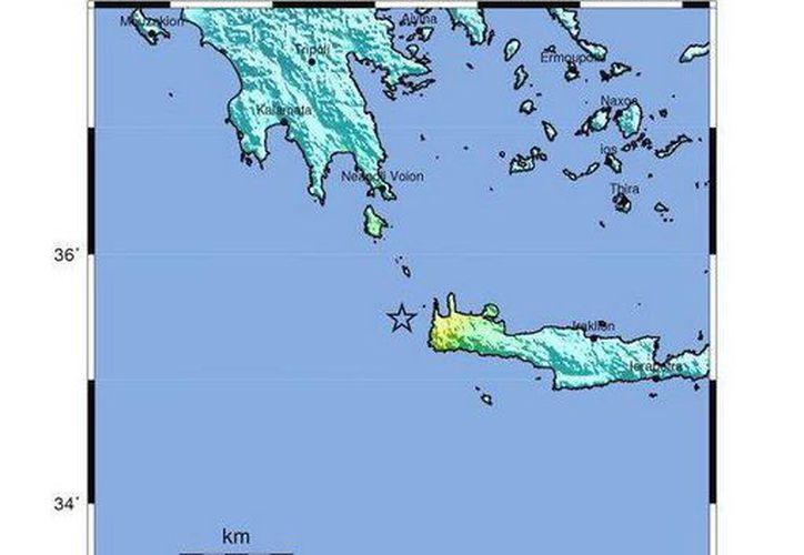 El terremoto se sintió en todo el Peloponeso, desde Esparta hasta Patras, e incluso en la región de Ática, al sur de Atenas, y en las islas Cícladas. (EFE)