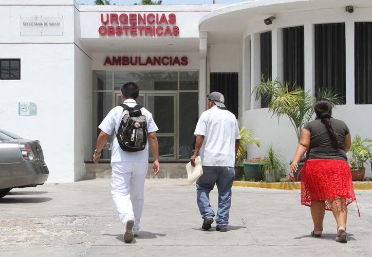 La megajornada de vasectomía que tiene como sede el Hospital Materno Infantil Morelos. (Alejandra Carrión/SIPSE)