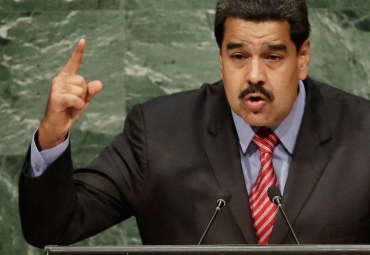 El presidente venezolano Nicolás Maduro anunció un aumento de salario por primera vez en 16 años. (AP)